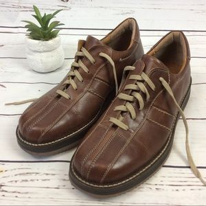 Bass Brown Leather Shoes, Size 10.5